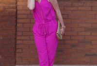20 Hot Pink Strampler und Jumpsuit-Outfits